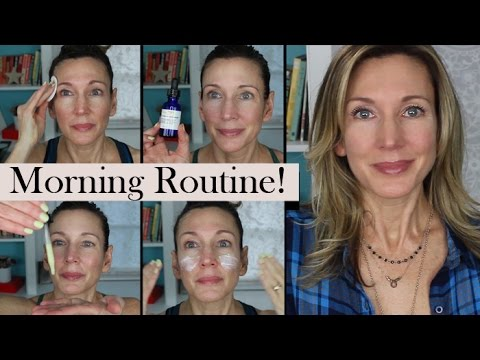 Morning Skincare Routine for Younger Looking Skin!