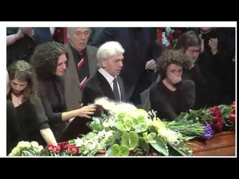 Dmitri Hvorostovsky...his last great applause and a lot of tears