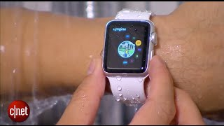 Taking a shower with the Apple Watch