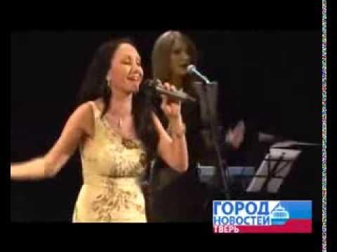 Певица Афина с концертом в Твери. Город новостей