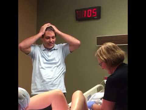 Dad Excited To Have Baby Boy