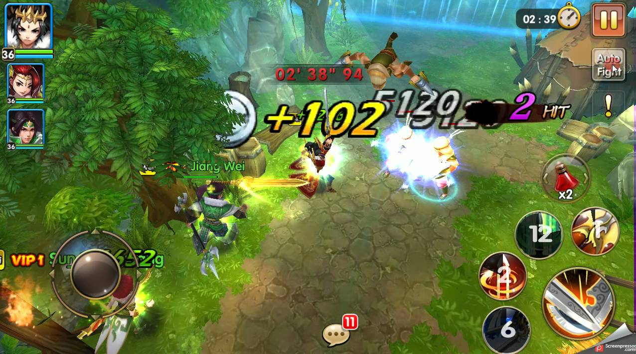 dragonblade app game gameplay preview - googleplay - youtube
