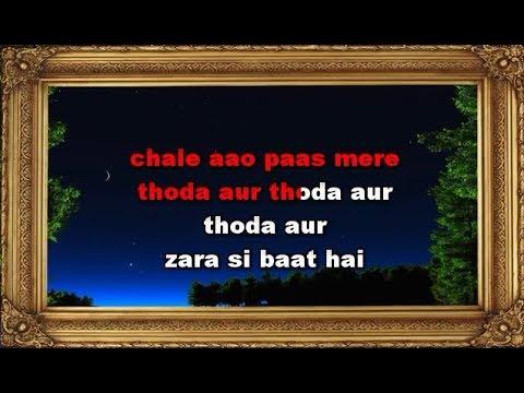 Thoda Aur - Karaoke - Ranchi Diaries - Arijit Singh & Palak Muchhal