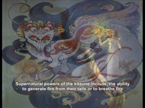 Kitsune - The fox in Japanese myth