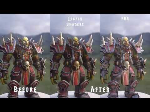 Varok Saurfang Before And After Texture Edit Turntable