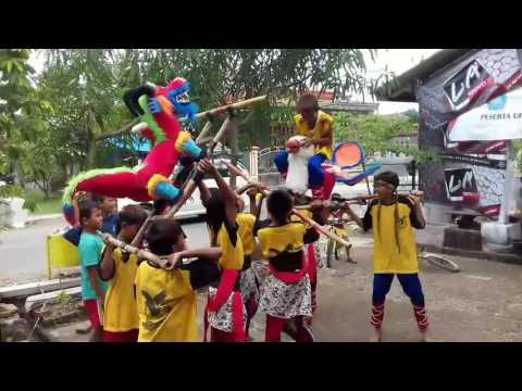 Atraksi Depok Cilik Rajawali Muda (Karangampel)