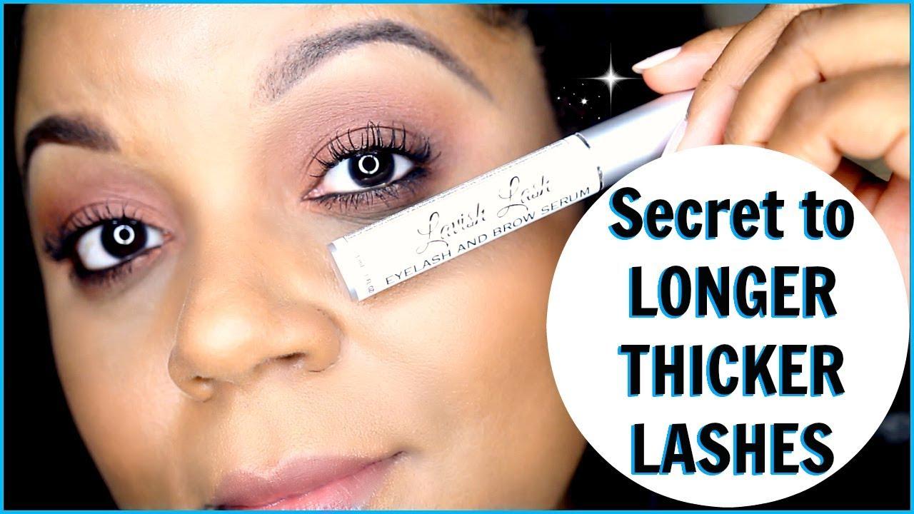 Lavish Lash Eyelash And Brow Serum For Longer Lashes And Thicker