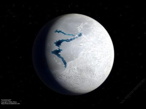 La plus grande glaciation de tous les temps