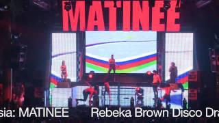 MATINEE Ibiza at amnesia 2010  Rebeka Brown Live