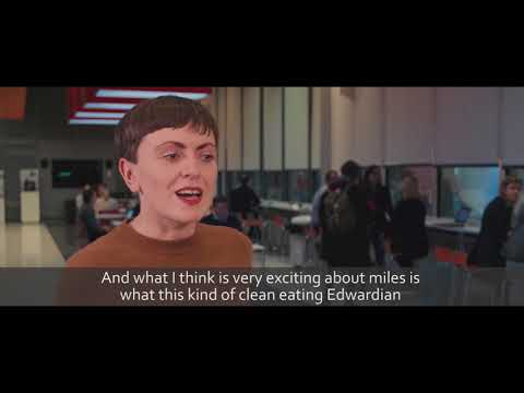 2018 New Generation Thinker Elsa Richardson – 19th Century alternative dietary culture