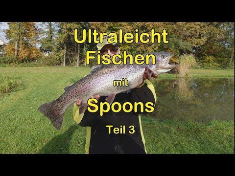 Ultraleicht fischen mit Spoons Teil 3