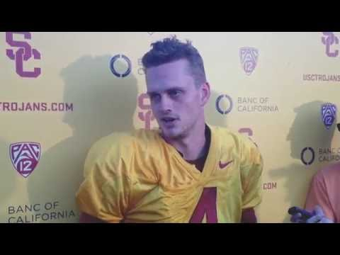 Max Browne Reacts to Being Demoted to USC