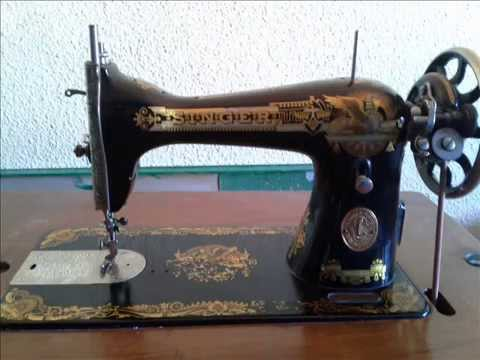 Maquinas de coser antiguas - YouTube