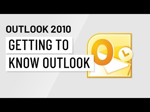 Outlook 2010: Getting to Know Outlook 2010