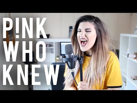 Who Knew - PINK (Alternative Rock Cover) | Christina Rotondo Cover