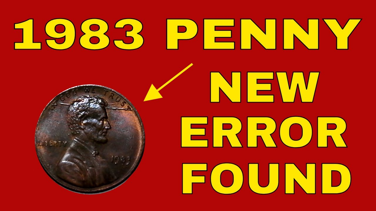 New error found on 1983 penny from pocket change! Error penny discovered by  our subscriber!!