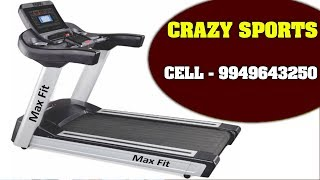 How to use Auto Incline Treadmill | How to use Treadmil | A S Rao Nagar | zoneadds.com