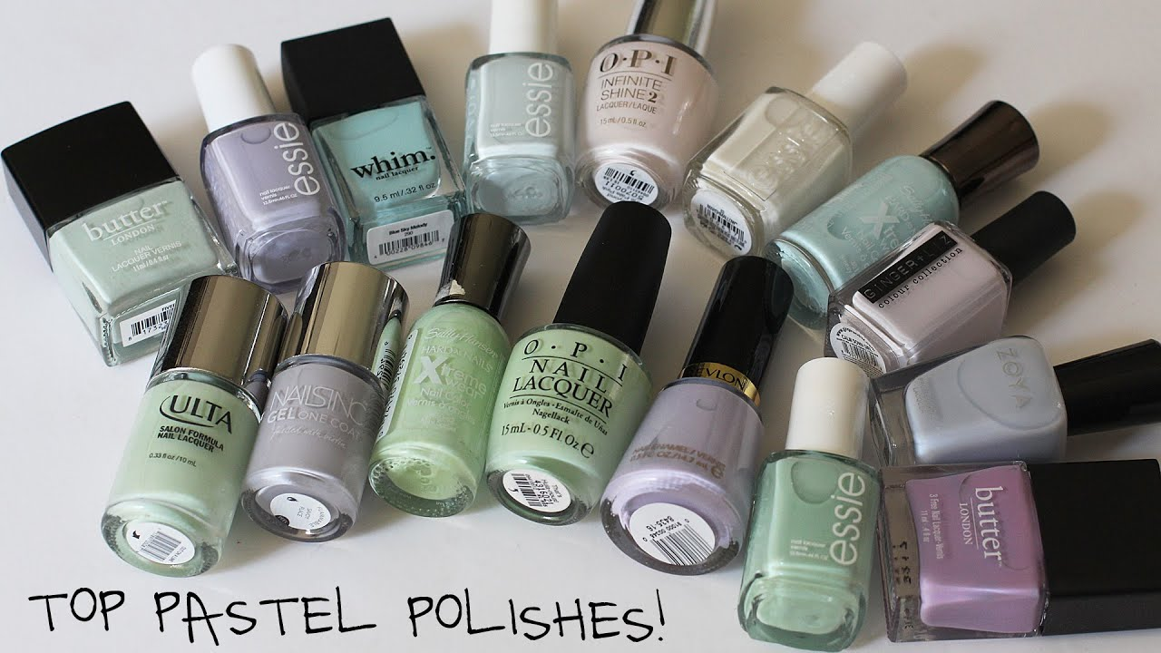 Top Pastel Polishes 2015! Essie, OPI, Ulta, Whim, Butter London ...
