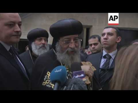 Egyptian Orthodox church leader in Jerusalem