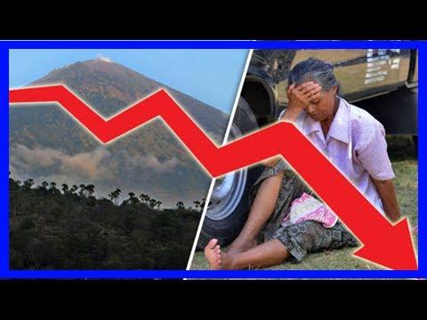 Breaking News | Bali volcano update: mount agung eruption threat has cost bali £112 million so far