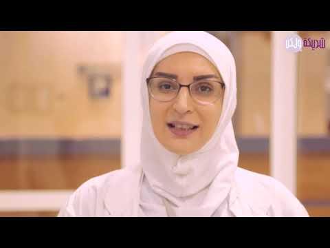 سكينة عودة ممرضة لبنانية تطوعت في قسم الكورونا في مستشفى رفيق الحريري  - 23:51-2020 / 3 / 19