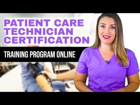 Patient Care Technician Certification Training Program Online