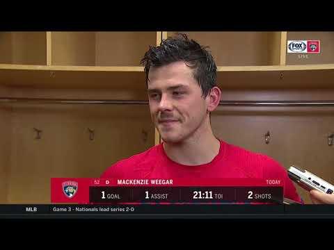 POSTGAME REACTION: Florida Panthers Vs New Jersey Devils 10/14/19