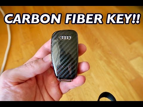 8ddaefb9333d36 My New AUDI TT-S Carbon Fiber Key! - YouTube