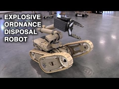 A career in explosive ordnance disposal