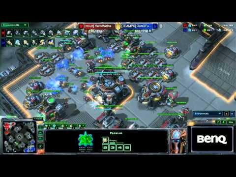StarCraft 2 - Gungfubanda vs. Marine 1/2 - EPS Finals Germany Winter 2014