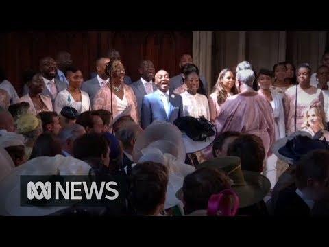 Royal Wedding: The Kingdom Choir sing Ben E Kings Stand  Me