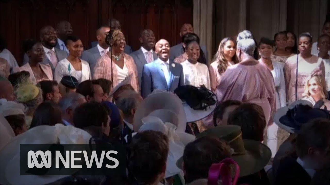 Gospel Choir At Royal Wedding.Royal Wedding Stand By Me Performed By The Kingdom Choir Abc News