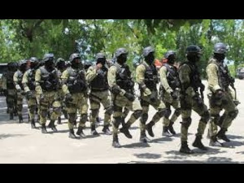 Haïti-Police barrage-Carrefour Aeroport:Manifestation vs Jovenel Moïse.