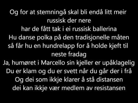 Kaizers Orchestra - Resistansen [lyrics]