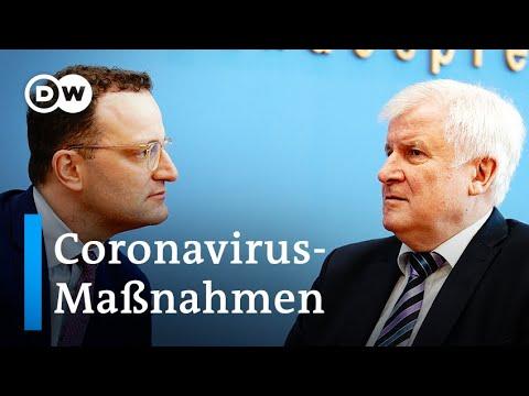 Coronavirus-Krisenstab: Wie Geht Es In Deutschland Weiter? | DW Nachrichten