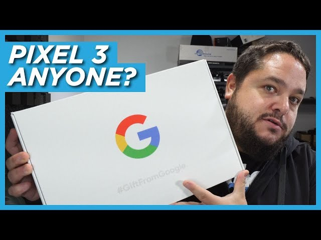 Unboxing the Google Pixel 3