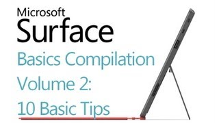 Microsoft Surface RT Tips - Volume 2 (10 tips) - Windows 8