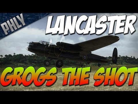 War Thunder- Lancaster Bomber Gameplay! Carrier BOMBING