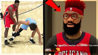 ZION IS INSANE ON Hall of FAME! TRIED TO INJURE MULTIPLE DEFENDERS!! NBA 2k20 MyCAREER Ep. 93