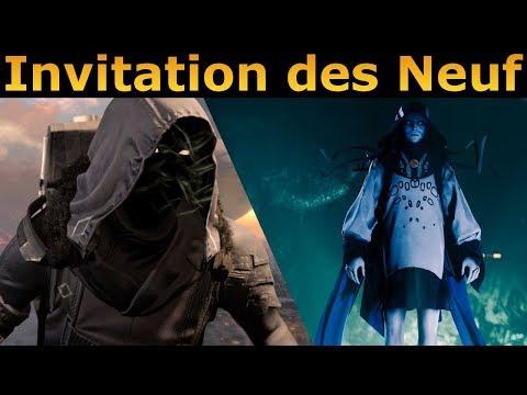 Destiny 2 : Ou est Xur ? Et Invitation des Neuf ! thumbnail