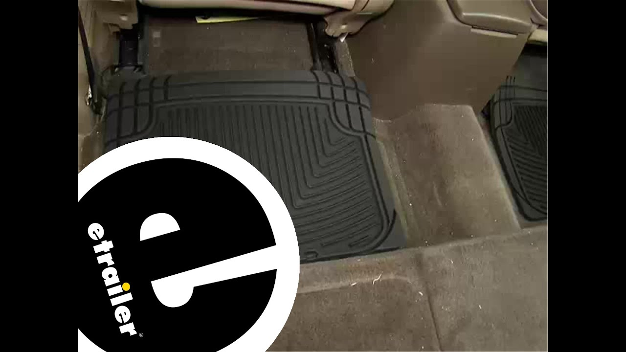 Weathertech all vehicle mats review - Review Of The Weathertech Rear Floor Mats On A 2002 Toyota Tundra Etrailer Com