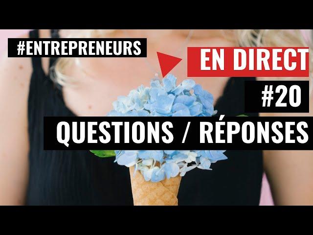 [  Live Questions/Réponses ] #20 - Expert-Comptable - Cabinet FICO - Grégory PROUVOST