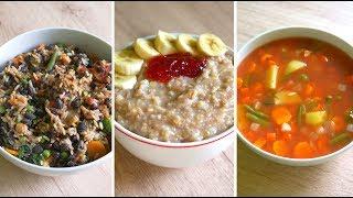 Vegan essen für 2 Euro pro Tag?! // Günstige vegane Rezepte (TAG 1-3)