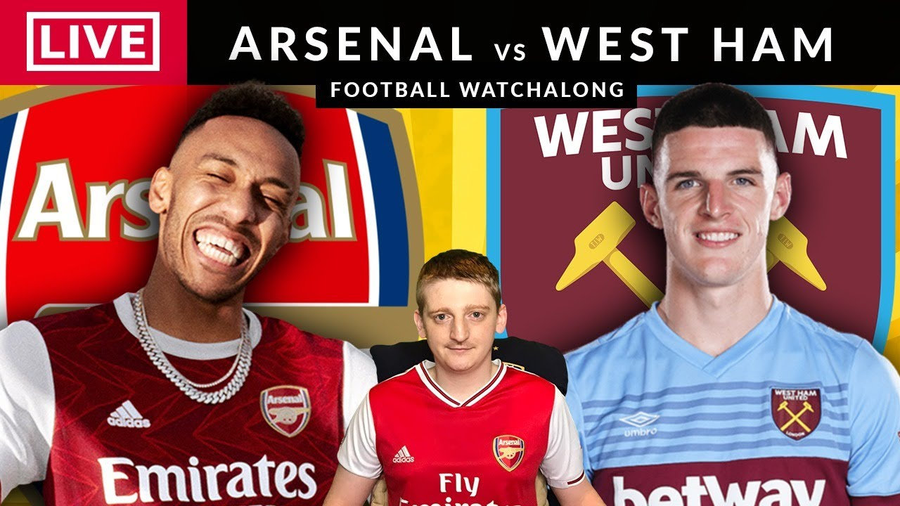 ARSENAL vs  WEST HAM - LIVE STREAMING - Premier League - Football