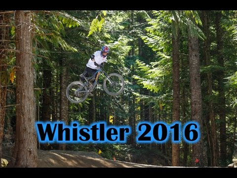 Whistler 2016 - Summer Gravity Camps