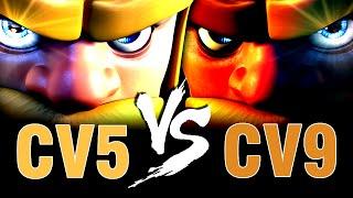 CLASH OF CLANS | CV5 vs CV9 - 100% ÉPICO na Guerra! (no sense) - DidiGPX