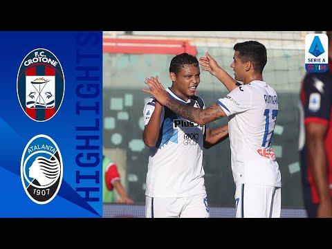 Crotone Atalanta Goals And Highlights