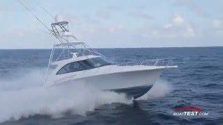 Hatteras 45 Express Test 2016- By BoatTest.com