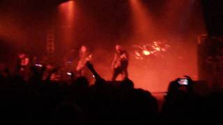 SLAYER - Raining Blood Intro, Live in Madrid 28/03/11
