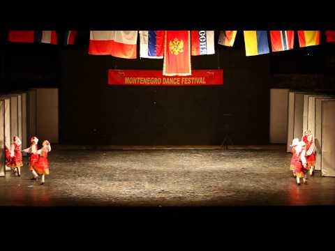 Montenegro dance festival - 2012